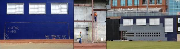 2013 Durham Bulls DBAP renovation. 10-24-13.